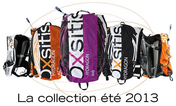 la gamme de sacs d'hydratation hydragon par la marque oxsitis